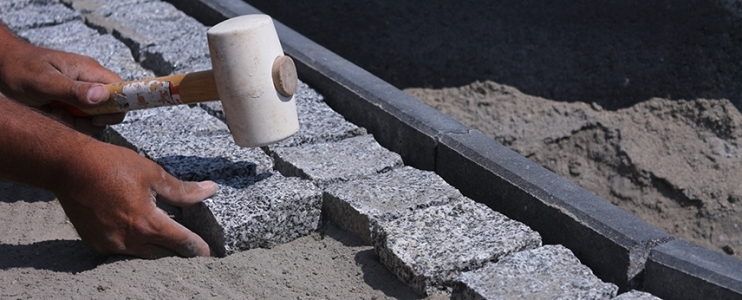 How to install cobblestone – Instructions for installing cobblestone