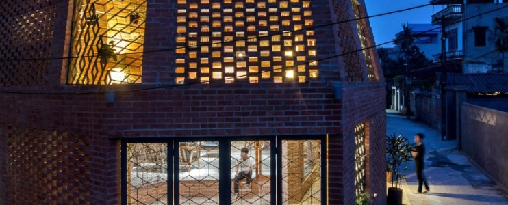 Brick Cave House: Inspired by nature