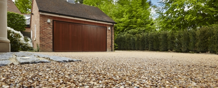 How to make a gravel driveway?