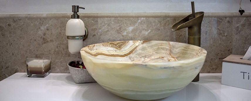 Onyx bathroom sinks