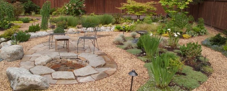 The beauty of landscaping with natural stone